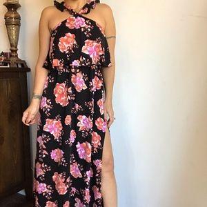 Tularosa Floral maxi dress